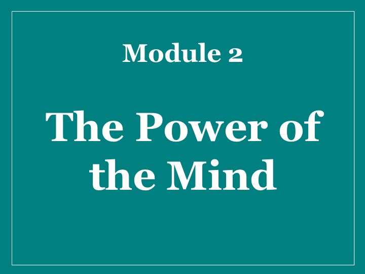 MMM Module 2